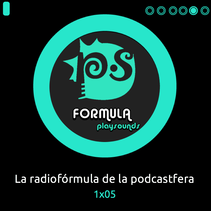 Logotipo Fórmula Playsounds 1x05
